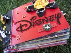 DT project for Scrapbook Island - Disney Mini Book