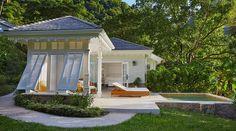 gracious guest cottage + pool/shutters/trim
