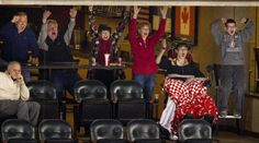 Jack Jablonski surrounded by family (mother Leslie behind him and brother Max on right in grey sweater) and friends celebrated a Benilde St. Margaret's goal by Grant Besse in the third period. It was Besse's fifth goal of the game. BSM beat Hill Murray by a final score of 5-1.  Photo: Carlos Gonzalez, Star Tribune