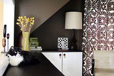 Balanced bold colors can make any room feel cozy explains @Nicole Balch - via MyColortopia.com