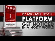 {Platform: Get Noticed in a Noisy World - Book Trailer} This book has a TRAILER. Brilliant.