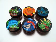 Skylanders AND cupcakes?!?! What more could I ask for :)