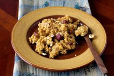 Breakfast Quinoa with Pumpkin and Spice