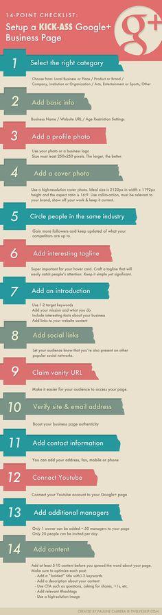 HOW-TO: Setup Google Plus Business Page