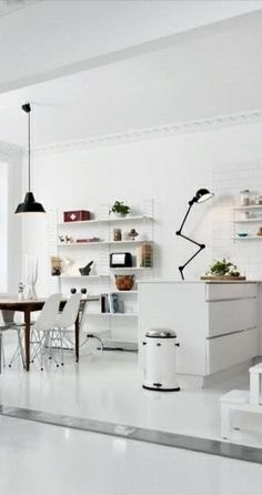 Via NordicDays.nl | Norwegian Blogger Home for Sale | White