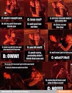 Billie Piper and Christopher Eccleston - Doctor Who
