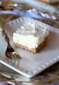 Recipe For Potluck Cheesecake Dessert - This nostalgic dessert is a family favorite! It's called Potluck Cheesecake Dessert because it's perfect for Potlucks and BBQs…anywhere you need to bring a dessert, this one is going to be a fast favorite!