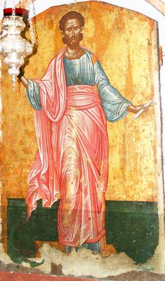 """""""17th C. Icon of St. Jason, Byzantine Church of St. Jason and St. Sosipater, Corfu"""" by monopthalmos on Flickr - http://www.flickr.com/photos/7549203@N04/4632662609/in/set-72157623996822277"""