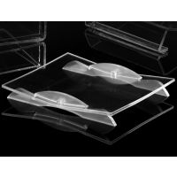 Methacrylate transparent change return drawer with elegant and simple design