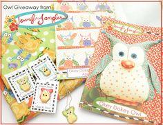 Owl Giveaway at the Jennifer Jangles Blog