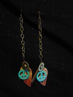 $10 Hanging Indian inspired earrings