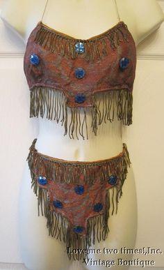 Vintage 1920s dance costume