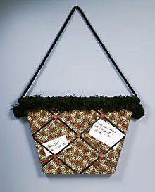 Leopard Bag Memo Board