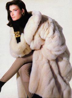 White Mink Coat
