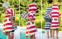New Beach Robes…plus a Stripey Summer PATTERN SALE | MADE