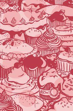 Cakes illustration