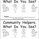 Community Helpers little book :)  $