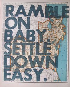 """Ramble on Rose,"" Grateful Dead"
