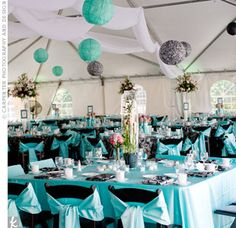 Tiffany Blue Wedding1