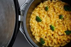 Rice-Cooker Mac and Cheese Recipe adapted from weelicious