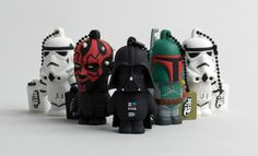 The Force Is Strong With These 'Star Wars' USB Flash Drives