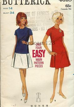 Cute 60's skirt and top