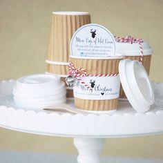GIVE | Mini Hot Cocoa Cup Gift Idea