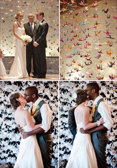Creative Ceremony Backdrops…Hot Trend for 2012