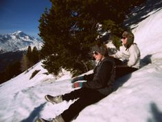 Lou and I, French Alps