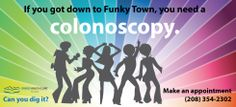 If you got down to #funkytown, you need a #colonoscopy. #coloncancer #marchforCRC #fightCRC