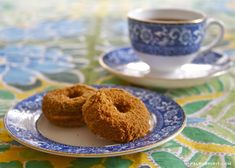 Apple Cider Paleo Donuts - perfect for chilly autumn mornings