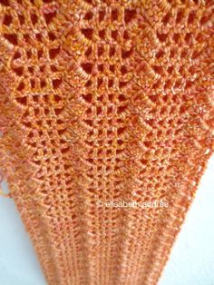 how to make a filet crochet scarf - about crochet