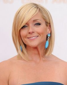 Emily!! jane krakowski, new haircuts, hair cut, short hairstyles, hair style, long bob, bob haircuts, bang, dream hair