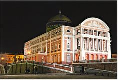 Teatro Amazonas / Amazon Theatre - Manaus, Amazonas.