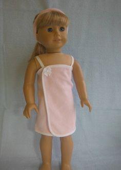 18 inch Doll Clothes Fits American Girl  Bath by HoleInMyBucket, $10.00