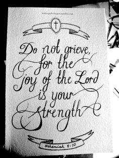 Nehemiah 8:10#Repin By:Pinterest++ for iPad#