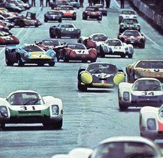 Départ des 24 heures du Mans...