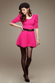 Vestido Curto Pink R$75.00 Petit4You