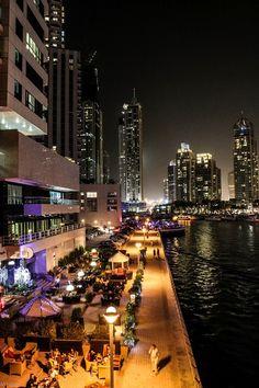 Dubai Marina, a breathtaking site!