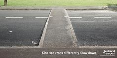 Kids see roads diffe