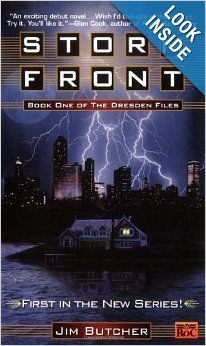 Storm Front (Dresden Files): Jim Butcher: 9780451457813: Amazon.com: Books