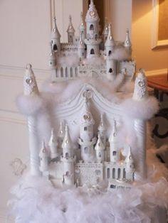 Storybook Wedding Gift : Storybook Castle wedding gift card box.