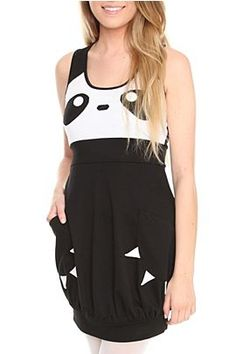 panda dress f/ hot topic