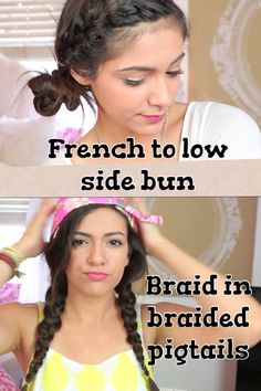 Am I the only one who can never catch up when Beth does her hair tutorials? No, just me? Okay :,)