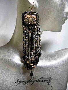 Jasper Jazz  Earrings created by Lynn Parpard by LynnParpard, $110.00