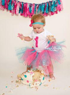 ... Birthday Smash Cake Girl, Birthday Parties, Baby 1St Smash Birthday