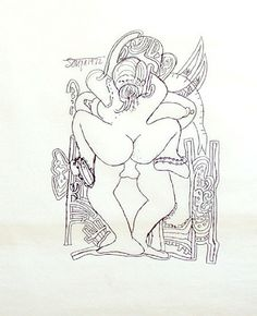 Francis Newton Souza, Erotic Drawing I