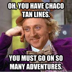 Chaco tan lines are a badge of honor!