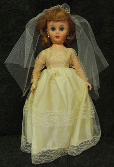 1950s bride doll.