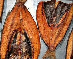 smoked mullet  ... roe as big as whole dill pickles ... mmmm